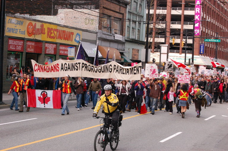 Prorogation: A View from Canada