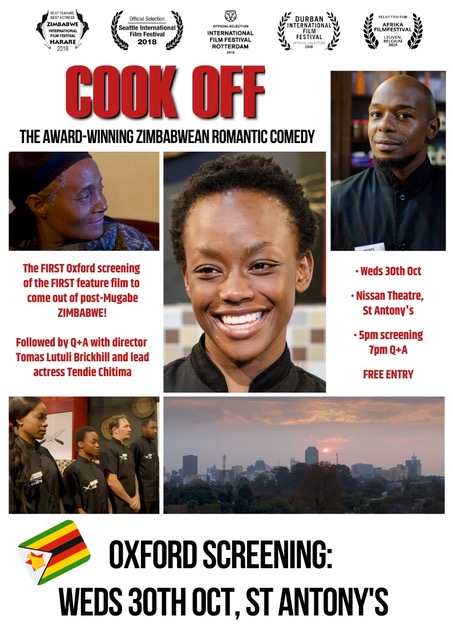 Oxford screening: Cook Off – Award-winning Zimbabwean romantic comedy