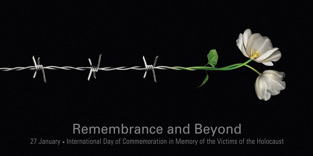 Holocaust Memorial Day lecture by Judge Theodor Meron, with music performed by Charles Lovell Jones (violin)