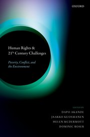 New Book on Human Rights and 21st Century Challenges