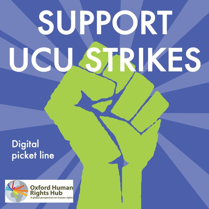Cancelled: OxHRH Solidarity with UCU Strike: Teach-Out on the Right to Education