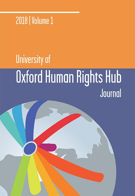 OxHRH Journal Cover 2018