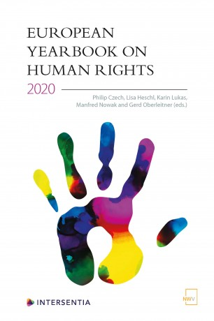 Call for Papers: European Yearbook on Human Rights 2021