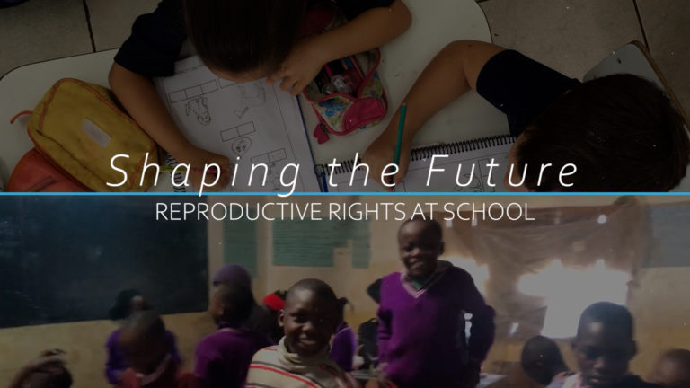 Shaping the Future of Sexual and Reproductive Health Rights at School