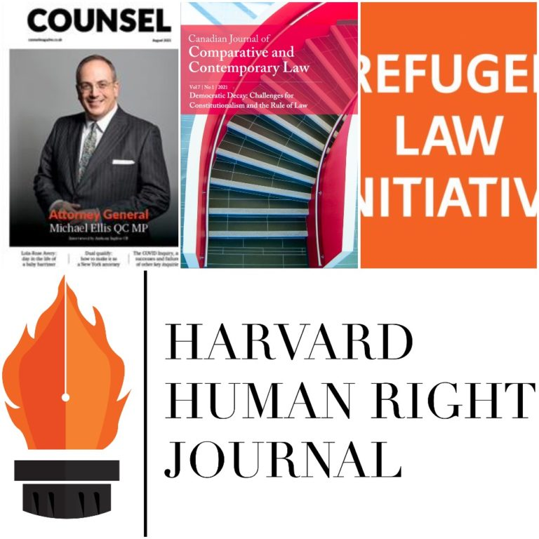 New Publications from OxHRH Associates