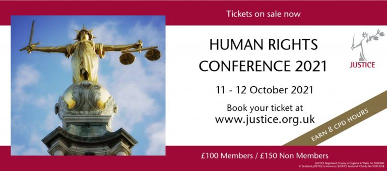 JUSTICE Human Rights Conference 2021